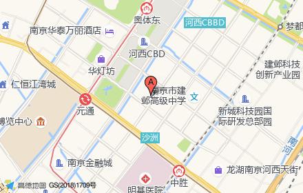 朗诗国际街区位置-小柯网
