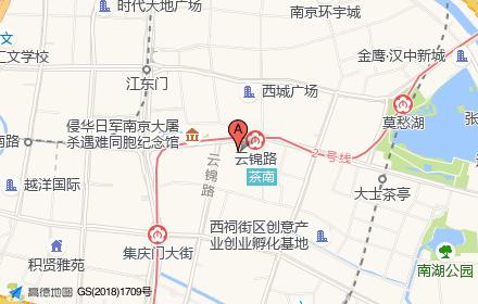 南京万达广场东坊位置-小柯网