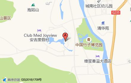 港中旅灵峰和乐小镇位置-小柯网