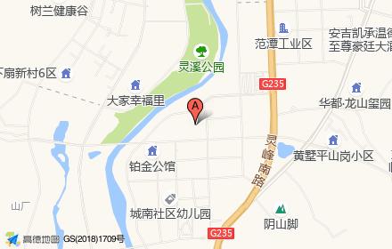 蓝城慧园位置-小柯网