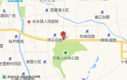 安吉凤凰中心广场位置-小柯网