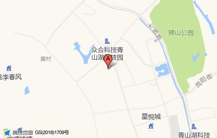 青山湖蓝城春风燕语位置-小柯网