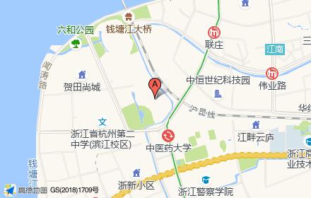 中海.钱塘山水位置-小柯网