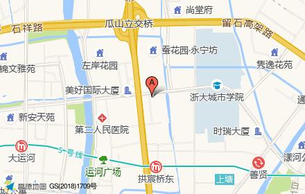 运河文化广场地下商场位置-小柯网