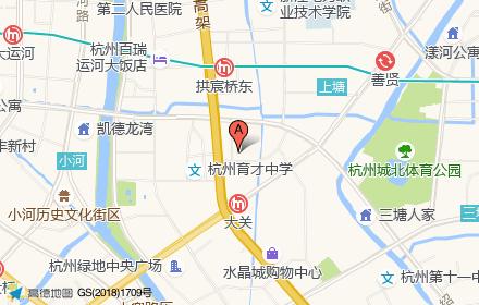 远洋杭州大运河商务区位置-小柯网