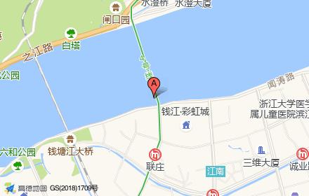 临江花园――富丽苑位置-小柯网