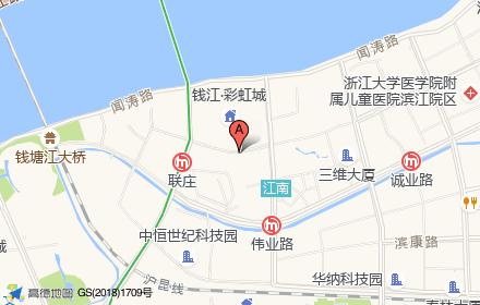 滨江五色彩虹城位置-小柯网