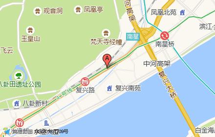 商宇清怡花苑1-8#楼住宅部分位置-小柯网