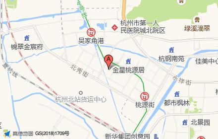 广宇锦绣桃源位置-小柯网