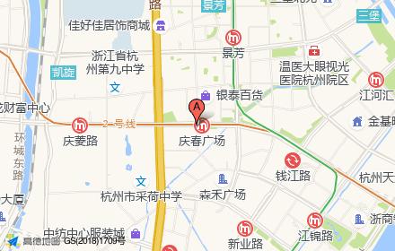 钱江新城庆春广场位置-小柯网
