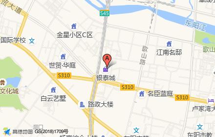 东阳银泰城位置-小柯网