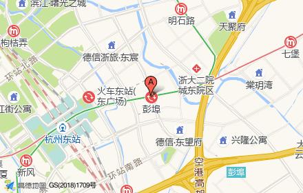杭州港龙城位置-小柯网
