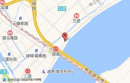 中海.御道路一号位置-小柯网