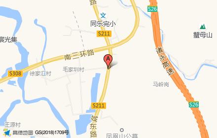 谷丰东城府位置-小柯网