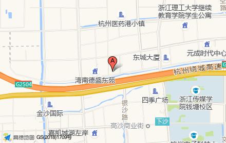 杭州东部国际商务中心IBC位置-小柯网