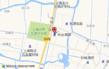中冶枫郡位置-小柯网